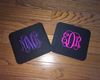 Personalized/monogrammed mousepads