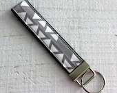Key Fob Wristlet in Gray ...