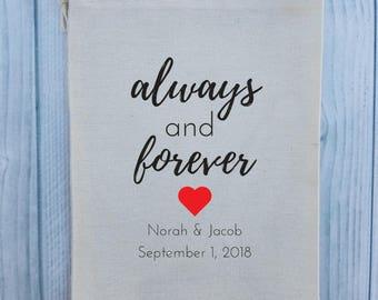10 Wedding Favors, Bachelorette Party Favor, Hangover Kit, Survival Kit, Birthday Favor Custom - Wedding Always and Forever