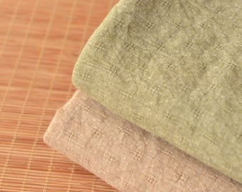 Soft Poly Cotton Gauze Fabrics Sold by Half Meter MJ727