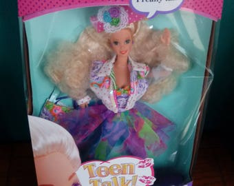 Mattel Teen Talk Barbie Doll New in box