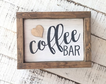 Coffee Bar Sign / Coffee Sign / Coffee Addict / Coffee Wall Sign / Coffee Art / Kitchen Decor / Hand Painted Sign / Typography