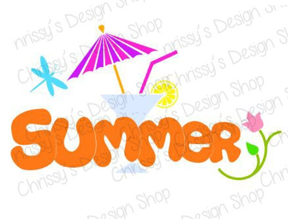 summer fun svg file summer svg file summer silhouette martini rh etsystudio com summer funny clipart clipart pictures of summer fun