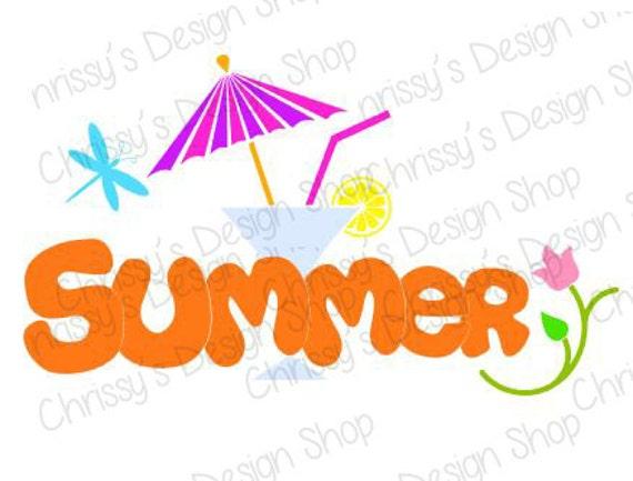 summer fun svg file summer svg file summer silhouette martini rh etsystudio com free clipart images summer fun free clipart summer fun