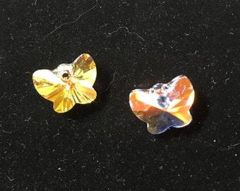 6754 Swarovski® 18mm Butterfly Pendant - Crystal AB