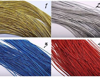 Cord decorative with a thickness of 1 mm.
