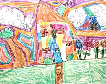 The Rainbow House
