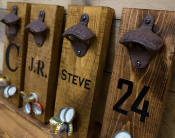 Personalized Magnetic Catch Bottle Openers