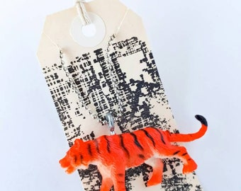 Ferociously Cute Tiger Toy Necklace
