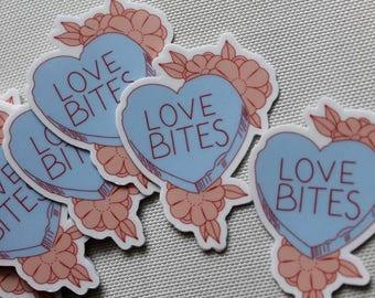 Love Bites Stickers