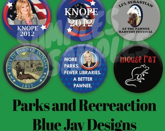 Parks and Recreation 2.25in Buttons