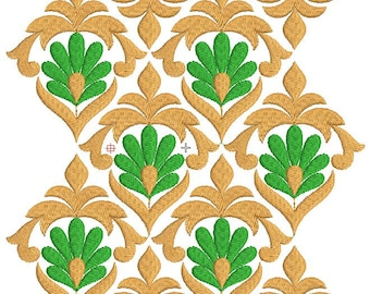 Border Embroidery Machine Design,Lace Embroidery Design,Paadar Club,INSTANT DOWNLOAD