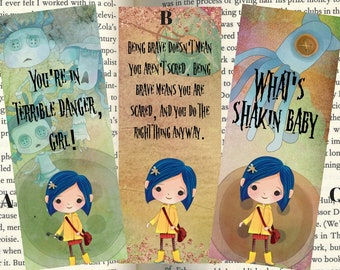 Coraline Inspired Quotemarks