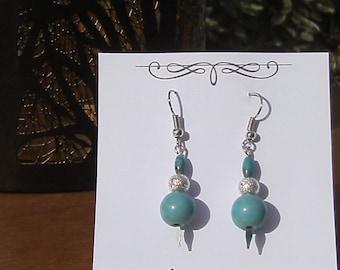 Turquoise Spear earrings