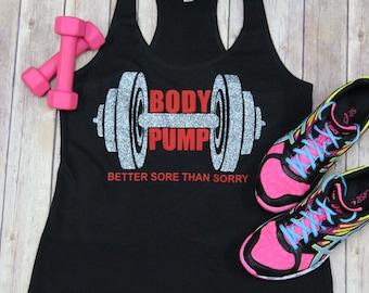 Body Pump Workout Tank