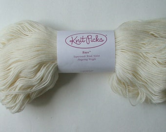 Knitpicks Bare Merino Wool Yarn, One Skein