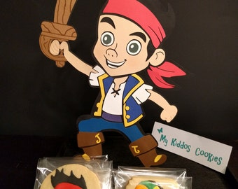 Jake and the Neverland Pirates Cookies Package - 1 dozen