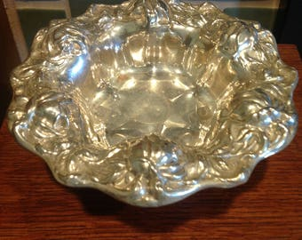 Wallace Silverplate Compote