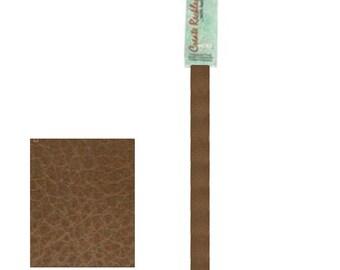 "Leather 10mm x 10"" Strip, 1 Piece, Brown For create Jewelry Wa 540-112"