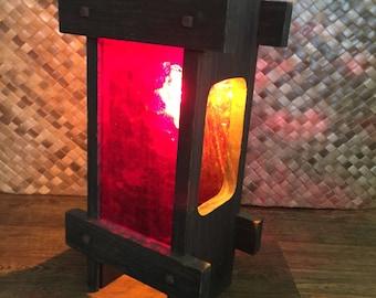 1960's Swag Lamp