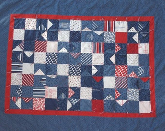3D Nautical Flags Charm Pack Quilt Pattern (301)