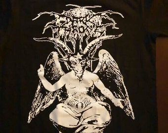 Total Death †Dark† Throne Baphomet Shirt