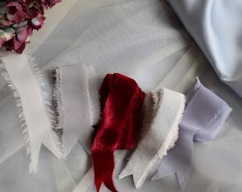 Silk ribbon/velvet ribbon