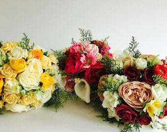 BESPOKE bride's bridal bouquet (made to order) wedding flowers