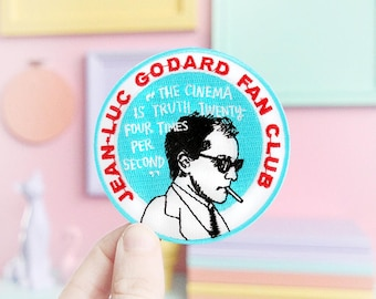 Jean Luc Godard Fan Club Patch