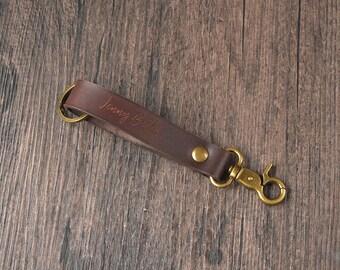 Key holder, key chains for women, mens keychain, Key organizer, handmade leather keychain personalized, gift ideas, LT592-Pinkish red