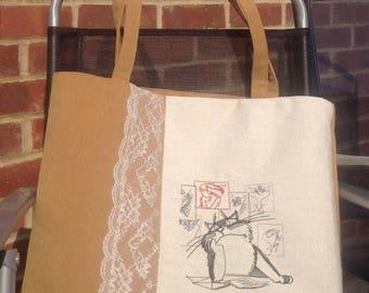 Handbag/ beachbag