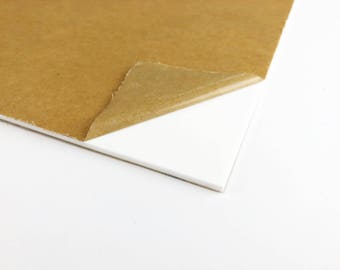 Acrylic Sheet For Laser Cutters - Clear, White, or Black - 18 inches by 20 inches - 18 x 20 - 1/8 inch thick - Ships Fast in USA