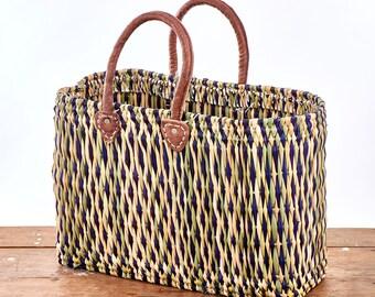Majorelle Date Palm Shopper Bags