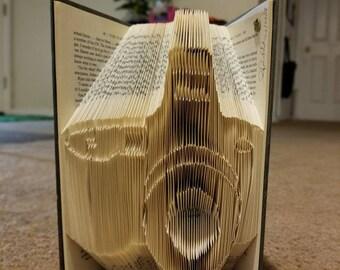 Camera Book Folding Art