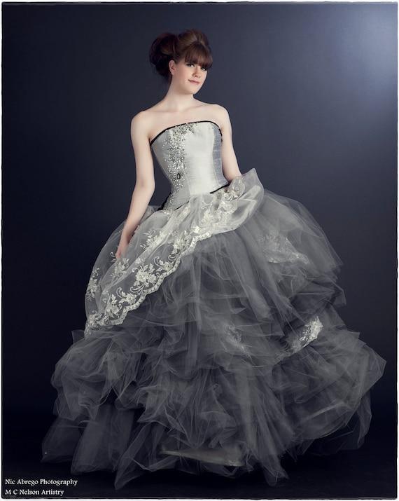 Cinderlla Wedding Dress-Whimsical Fairytale Ball Gown