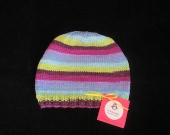 Women's striped hat