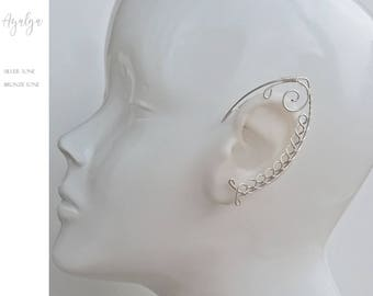 elven ear - ear cuff - elvish earring - elf ear- statement jewelry- statement jewelry