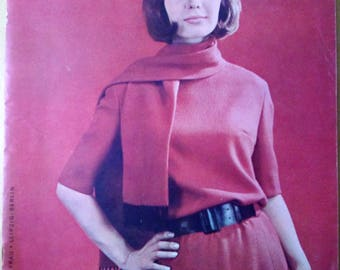 Praktische Mode 8/1963 Sewing pattern magazine