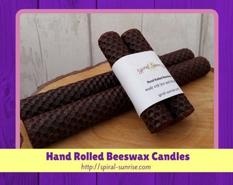 Candles for New Home Gift | Boho Decor Gift, Rustic New Home Gift, Country-Home-Decor, Beeswax Candles for Home, Coloured-Beeswax-Candles