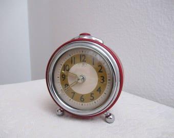 Pottery barn Vintage Alarm Clock Push Button