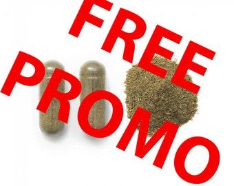 FREE PROMO OFFER Brahmi pure Capsules (Bacopa Monnieri) Natural 400 mg