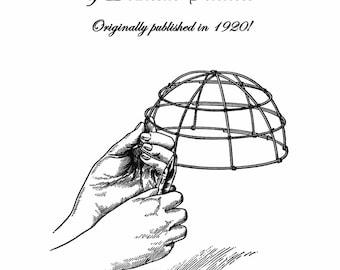 1920 Millinery Book Make Roaring 20s Flapper Hat Frames Flapper DIY Milliner Guide 1
