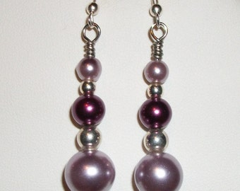 Lavender Pearl Drops