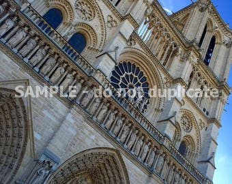 Notre Dame, Paris Up Close