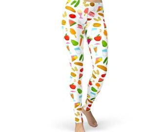 Healthy Food Leggings