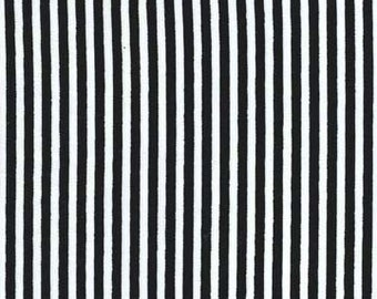 Fat quarter - Little Stripe in Midnight - Michael Miller cotton quilt fabric