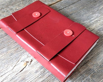 SALE + Free Shipping -- Handbound Leather Journal
