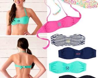 Bandeau Bikini Tops/Bottoms