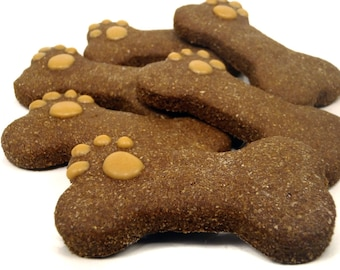 Organic Dog Treats - Bear's Bones - All Natural Dog Treats Organic Vegetarian Sweet Potato Molasses - Shorty's Gourmet Treats