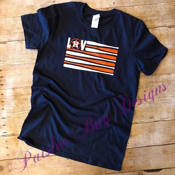 Astros Flag Shirt Houston Astros Shirt Astros Shirt
